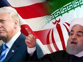 تصویر دونالد ترامپ و حسن روحانی در راستای برجام